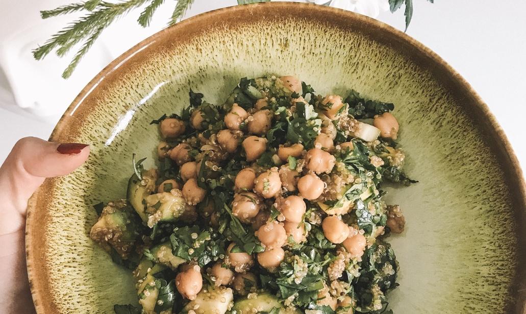 3 Saladas Rápidas e Nutritivas